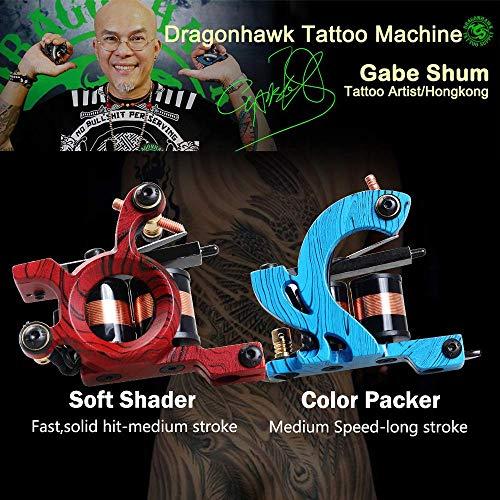 Dragonhawk Complete Tattoo Kit 4 Standard Tunings