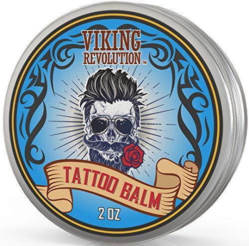 Viking Revolution Safe Tattoo Care Balm for Before, During & Post Tattoo