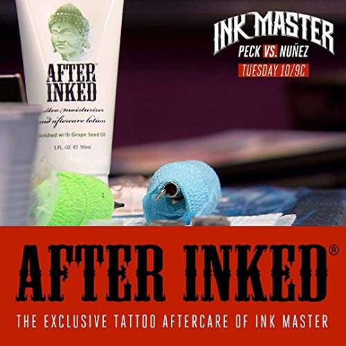 After Inked Tattoo Moisturizer & Aftercare Lotion