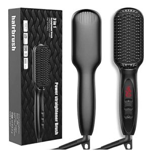 JUMPHIGH Hair Straightening Ionic Brush
