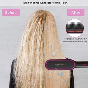 Soobest Ionic Technology Hair Straightener Brush