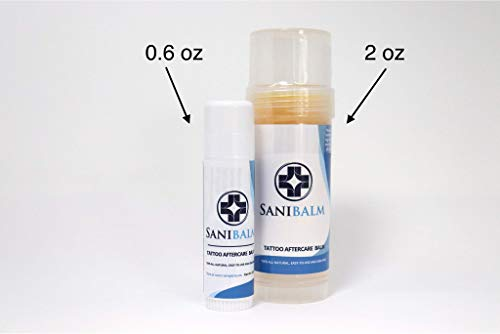 Sanibalm Tattoo Aftercare Roll-On Balm By Saniderm