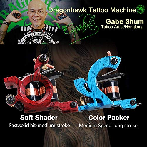 Dragonhawk Complete Tattoo Kit 4 Standard Tunings