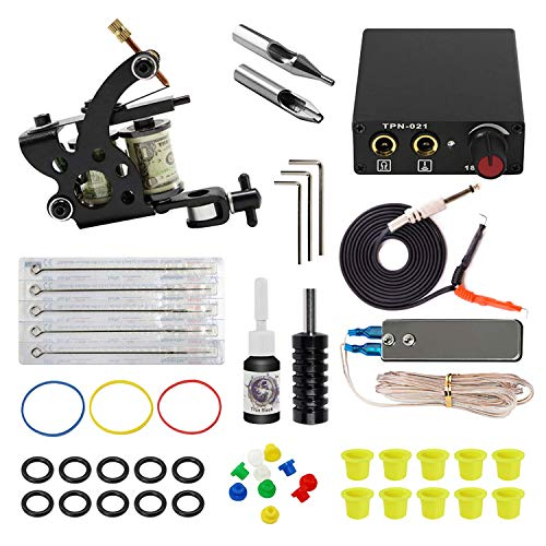 ITATOO Complete Tattoo Kit for Beginners