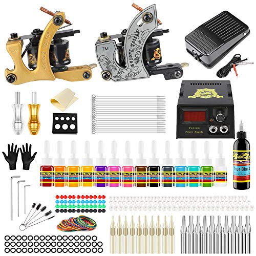 Solong Tattoo Complete Beginner Tattoo Kit