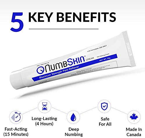 Numbskin Anesthetic Non-Prescription Numbing Cream