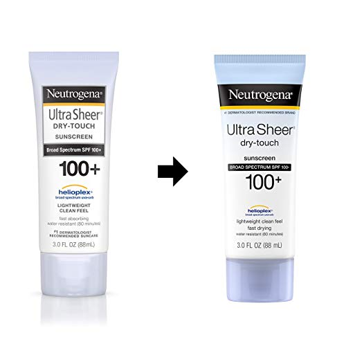 Neutrogena Ultra Sheer Non-Greasy Sunscreen SPF 100+
