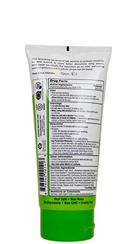 Goddess Garden Organics sunscreen lotion