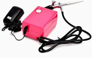 Hubest Airbrush Makeup Set with 3 Level Adjustable Pressure