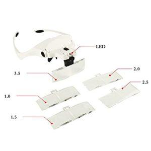 Microblading Head LED Adjustable Lamp