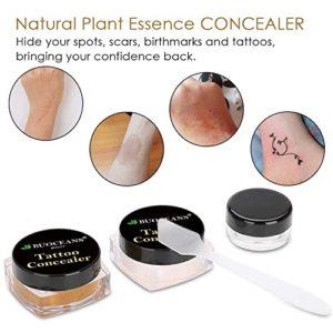 BUOCEANS Waterproof Makeup Concealer for Tattoos