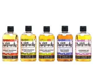 Dollylocks Tea Tree Spearmint Liquid Shampoo for Dreadlocks