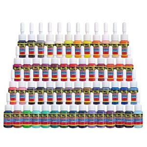 Solong 54 Colors Pigment Tattoo Ink Set