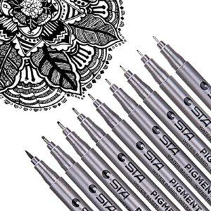 Dyvical Waterproof Micro-Pen Fineliner Ink Pen Set