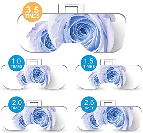 AZFUNN Headband Magnifier with LED Light Lamp